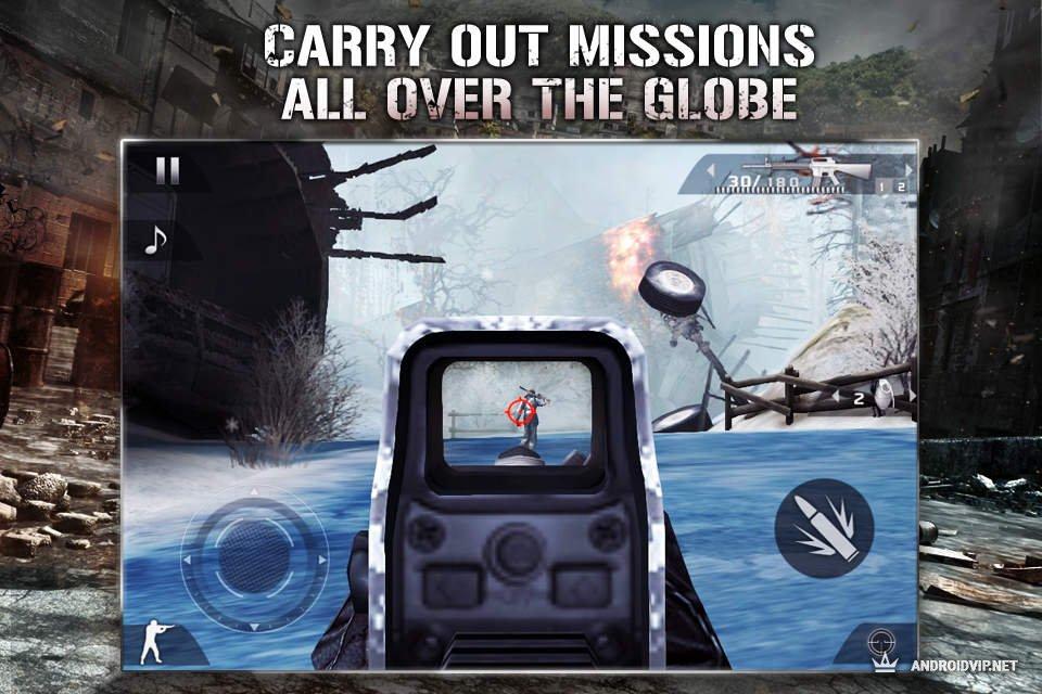 Скачать Modern Combat 2 на русском Android
