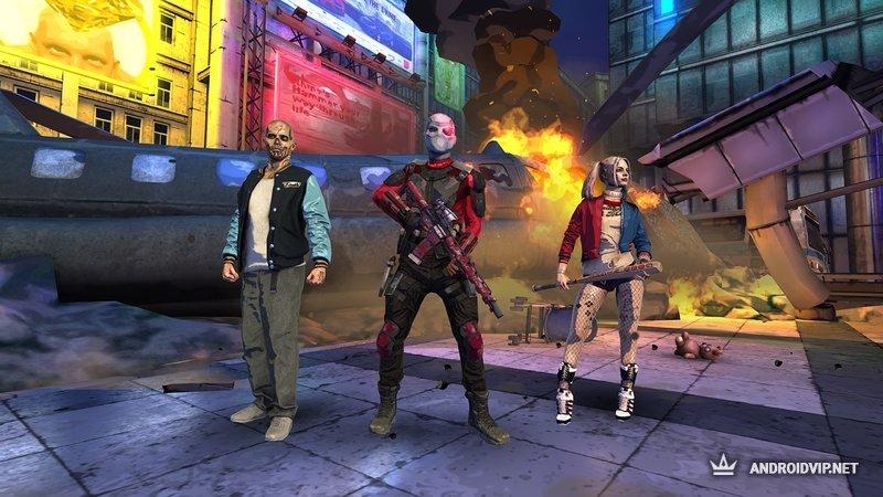 Игра отряд самоубийц скачать на андроид