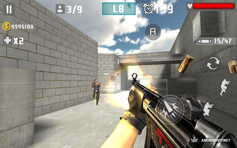 скачать игру пистолет удар войны стрелять img-1