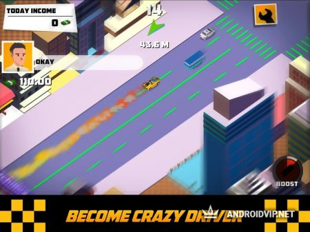 Crazy Traffic Taxi