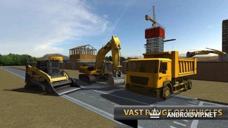 Город строитель экскаватор 3D