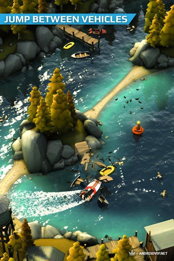Игра на андроид smash bandits racing