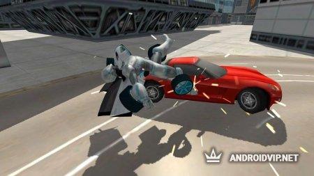 Flying Car Robot Simulator