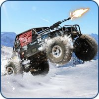Snow Buggy Car Death Race 3D