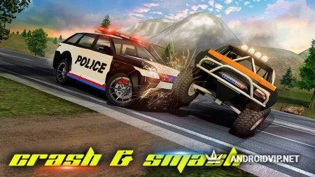 Police Car Smash 2017