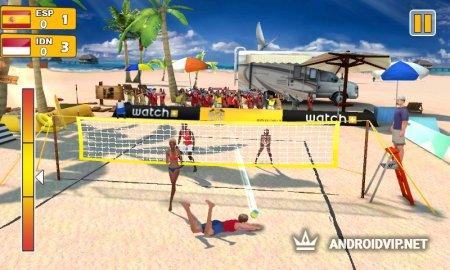 Пляжный волейбол 3D