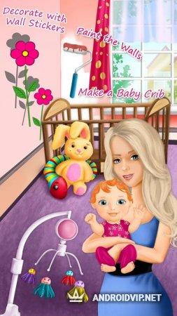 Малышка и новорожденная