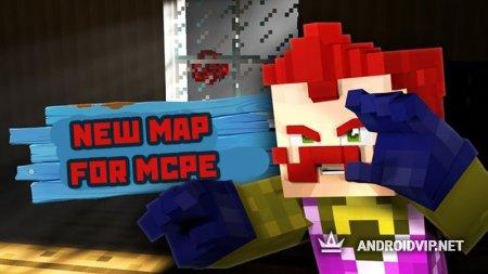 Карта Привет Сосед Майнкрафт
