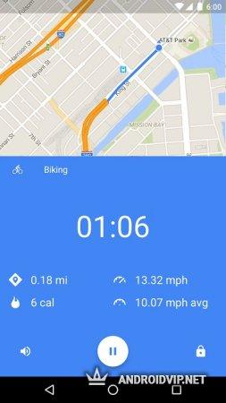 Google Fit – фитнес-трекер