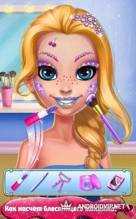 Блестящий макияж – Блеск-салон