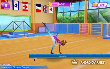 Гимнастка – Набери 10 баллов!