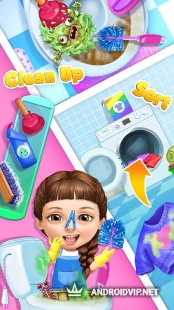 Sweet Baby Girl Cleanup 5