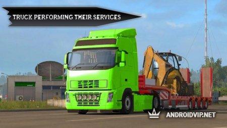 Горный грузовик вождения вне дороги: симулятор