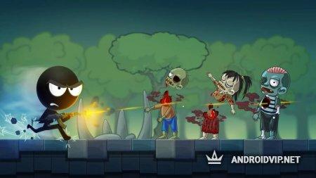 Стикмен - Выживание против Зомби