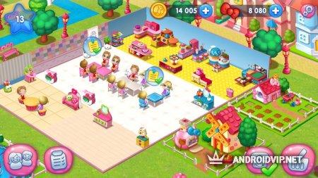 Hello Kitty Город еды
