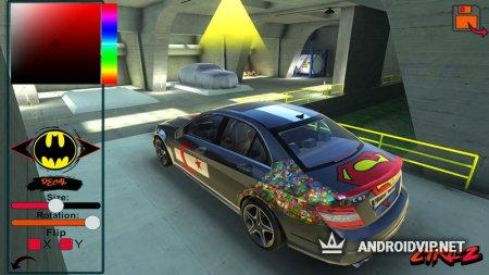 C63 AMG Drift Simulator