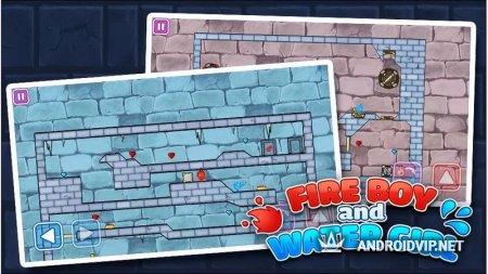 Icegirl and Fireboy - Crystal Temple Maze