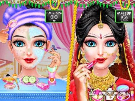 Свадебный симулятор индийской девушки