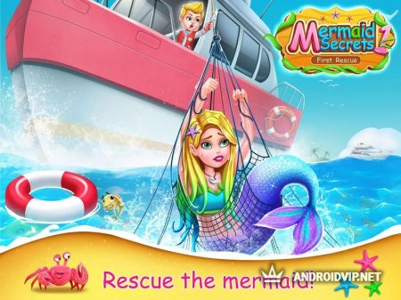 Mermaid Secrets1- First Emergency Rescue Story