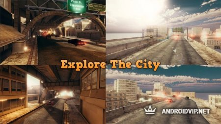 Car Driving In City