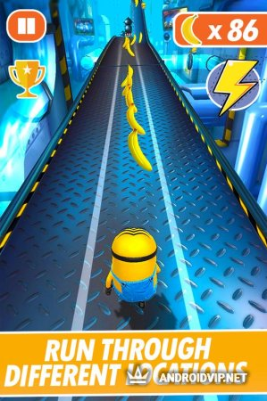 Banana Minion Adventure Rush : Legends Rush 3D
