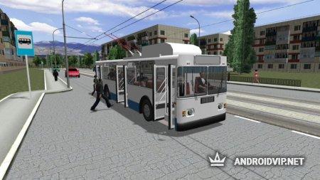 Симулятор троллейбуса 3D 2018