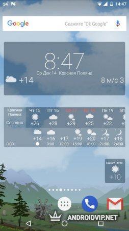 Погода YoWindow