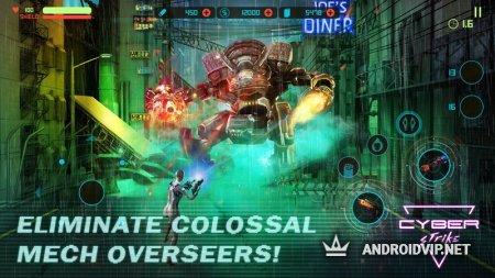Cyber Strike - Infinite Runner