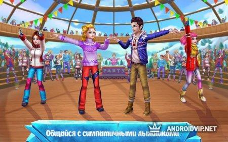 Лыжница-звезда – Игра про спорт и моду