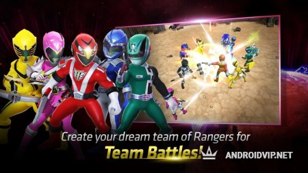 Power Rangers : RPG