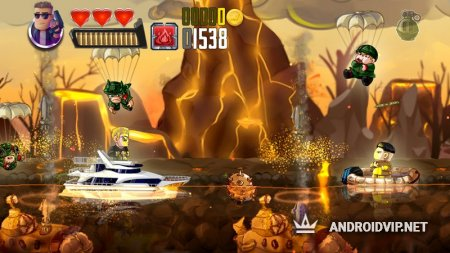 Ramboat - Jumping Shooter Game