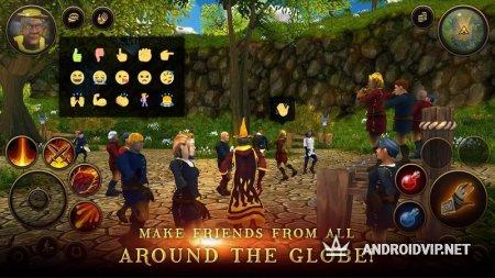 Крестьяне и герои 3D MMO