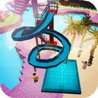 Аквапарк Крафт: 3D приключение на водных горках