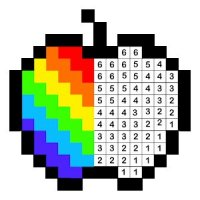 Draw.ly Color by Number Pixel Art Coloring