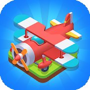 Merge Plane Click & Idle Tycoon
