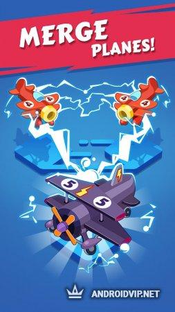 Merge Plane Click & Idle Tycoon