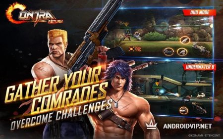 Garena Contra Returns