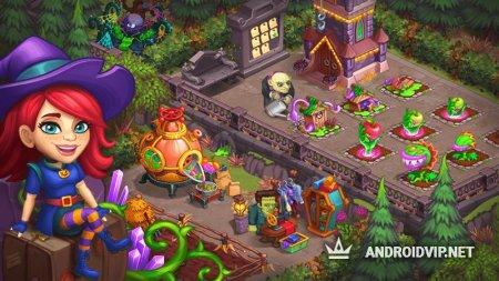 Monster Farm Ферма - Хэллоуин в Городке Монстров
