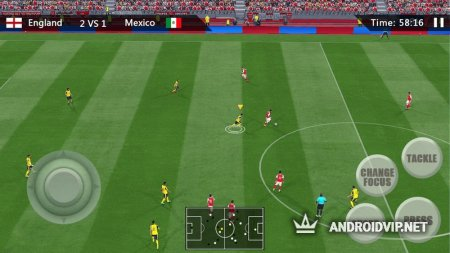 Real Soccer League Simulation Game