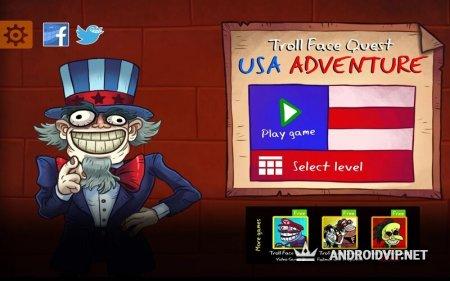 Troll Face Quest: USA Adventure