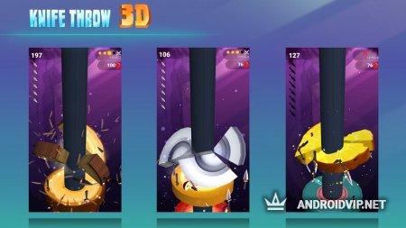 Knife Throw 3D