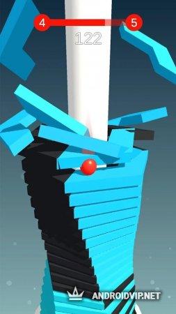 Stack Ball - сломай платформы