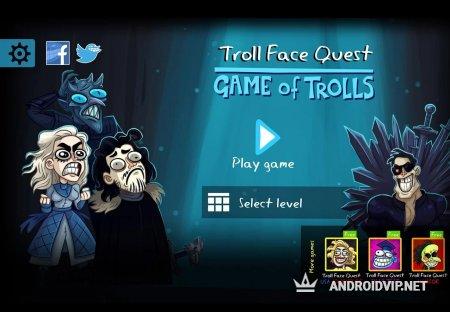 Troll Face Quest: Game of Trolls