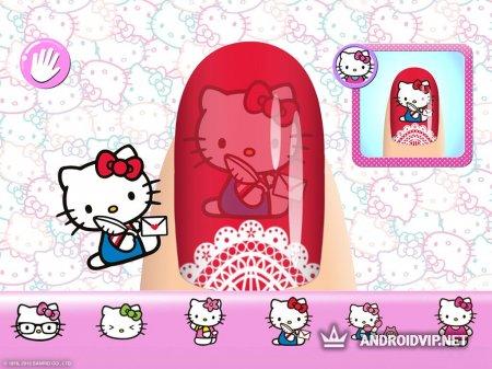 Маникюрный салон Hello Kitty