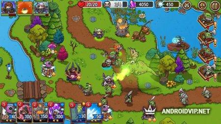 Crazy Defense Heroes Защита башни тд