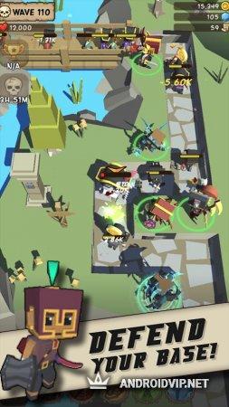 Idle Hero TD - Fantasy Tower Defense