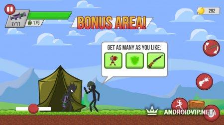 Стикмен Зомби-шутер: борьба с зомби