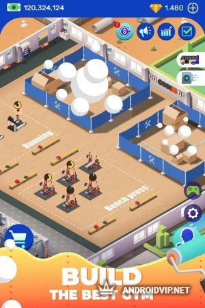 Idle Fitness Gym Tycoon – Workout Simulator Game фото 2