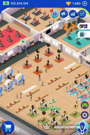 Idle Fitness Gym Tycoon – Workout Simulator Game фото 3